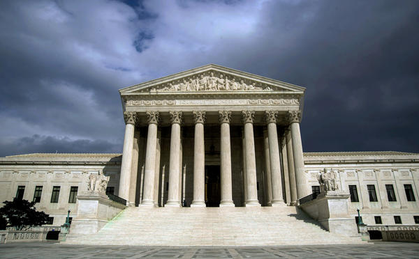 The US Supreme Court Building is seen in this March 31, 2012 file photo on Capitol Hill in Washington, D.C.