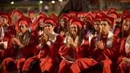 IMPERIAL — The senior class of Imperial High School closed out the Valley's graduation season after nearly 200 seniors participated in the school's 107th commencement ceremony at Shimamoto-Simpson Stadium here Friday night.