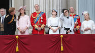 Catherine, Duchess of Cambridge, made her last formal public appearance for awhile Saturday at the annual Trooping the Colour ceremony, in honor of Queen Elizabeth II's birthday.