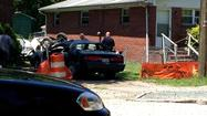 HAMPTON--A car crashed into a house in Hampton shortly before noon on Saturday, according to Hampton Police.