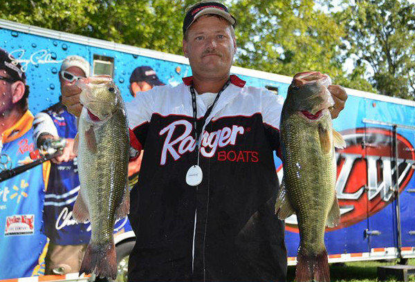 Walter Snider of Mt. Airy came in third place in last year's EverStart series tournament on the Potomac River.