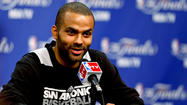 San Antonio Spurs point guard Tony Parker told reporters after Saturday's shootaround his injured hamstring is at risk of getting much worse but he will try to play through it.