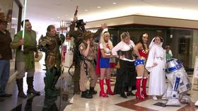 Pictures: Comic book characters at Orlando Fashion Square