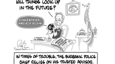 Leader Cartoon: Seeking outside counsel