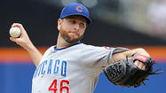 Feldman's pitching, hitting lead Cubs past Mets