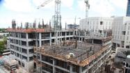 "As construction workers top off the fifth floor, the new <a href=""http://www.sun-sentinel.com/news/local/broward/"">Broward County</a> Courthouse rises. The county's hope: better conditions for the public and employees."