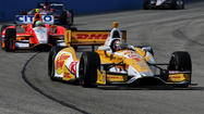 Hunter-Reay celebrates Father's Day early with IndyCar victory