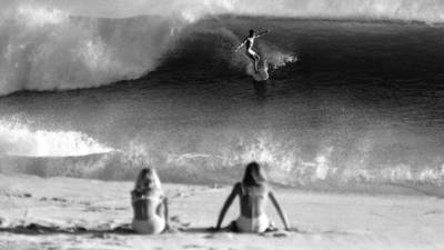 Treasure trove of surfing photos is a wistful wave to the past