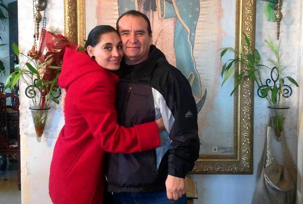 Olivia Gamboa, an MTA driver killed when a tow truck slammed into her bus downtown, and her husband, Bernardo, were planning to renew their vows for their 25th wedding anniversary.