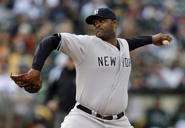 Of the six MLB pitchers to complete at least four years of a contract worth at least $90 million, the New York Yankees' CC Sabathia is the only one who has remained successful and durable.