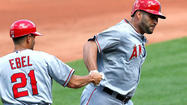 Angel slugger Albert Pujols is beginning to break out of his season-long slump, and Manager Mike Scioscia attributes some of that to Pujols learning how to deal with the painful plantar fasciitis in his left foot.