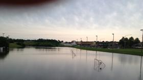 Pictures: Flooded soccer fields at Springfield's Pat Jones YMCA