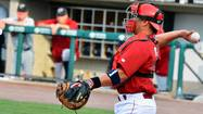 "Carlos Ruiz was bouncing from position to position during IronPigs batting practice Saturday afternoon, taking ground balls all over the infield and just ""itching to get himself in the lineup,"" according to manager Dave Brundage."