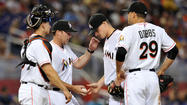 Whatever mojo Miami starter Jose Fernandez left on Marlins Park's pitcher's mound late Friday night failed to carry over Saturday afternoon.