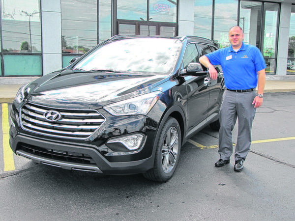 Hyundai is now offering a longer version of its popular Santa Fe crossover to better accommodate third-row passengers, said Justin Rhodes, a sales consultant for Gurley Leep Hyundai in Mishawaka.