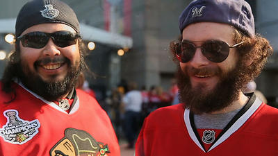 Hawks, beards and Stanley Cup cheers