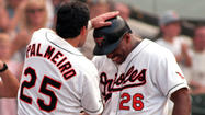 <strong>June 22, 1996:</strong> Trailing 3-0 in the bottom of the ninth inning, the Orioles hit three home runs to defeat the Kansas City Royals, 5-3. Rafael Palmeiro, Bobby Bonilla and Mark Smith connect for the second-place Birds (39-31).