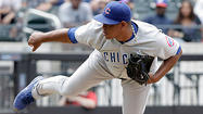 NEW YORK — A loud crashing sound emanated from the Cubs' showers shortly after Carlos Marmol blew a three-run ninth-inning lead Sunday in a stunning 4-3 loss to the Mets.