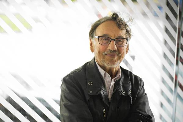 Award-winning cinematographer Vilmos Zsigmond in San Francisco, where he lives part time.