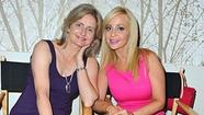 Cathy Weseluck and Tara Strong