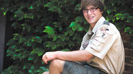 Quinn Alec Hoover was awarded the rank of Eagle Scout posthumously on May 18 at Otterbein United Methodist Church in Hagerstown.