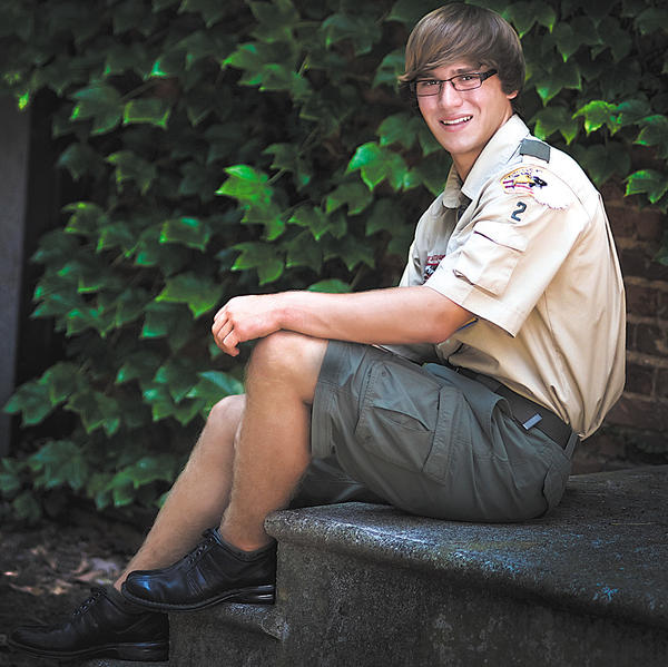 Quinn Alec Hoover was awarded the highest rank in Scouting, the Eagle Scout rank, in a ceremony May 18 at Otterbein United Methodist Church in Hagerstown. The award was presented posthumously for Hoover, who died March 18, 2012, from injuries sustained from an automobile accident.