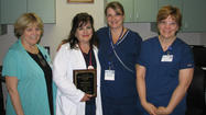 Nurse recognized for leadership