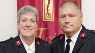 Salvation Army Majs. Karen and Robert Lyle
