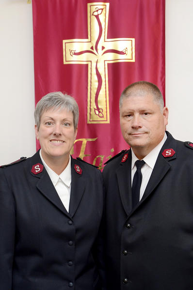 Salvation Army Majs. Karen and Robert Lyle are leaving The Salvation Army's Hagerstown Corps to take charge of the Adult Rehabilitation Center in Baltimore.