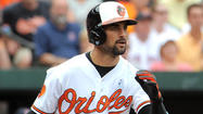 When the ball flies off the bat, Orioles right fielder Nick Markakis is often used to seeing it distinctly outlined against a backdrop of green seats up the third base line.