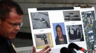 From what I've been reading, the Santa Monica killer was packing an illegal assault rifle and 40 high-capacity ammunition magazines. He sprayed 100 bullets and had access to 1,300.