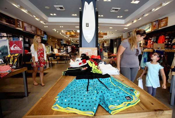 Quiksilver intends to cut sponsorships of athletes, spend more money on conventional advertising, focus on its bestselling brands — Quiksilver, Roxy and DC — and expand in Asia and Russia. Above, one of the company's stores in Santa Monica.