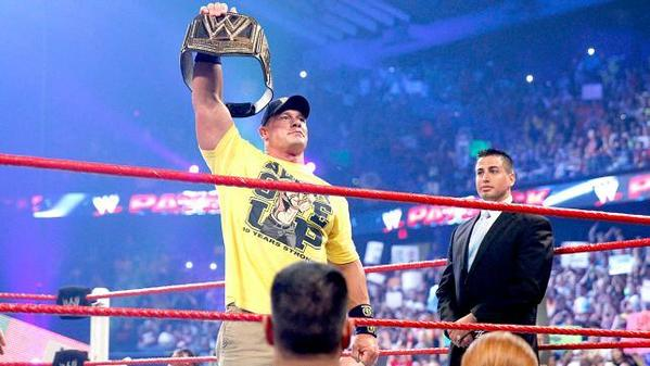 John Cena is still your champion.