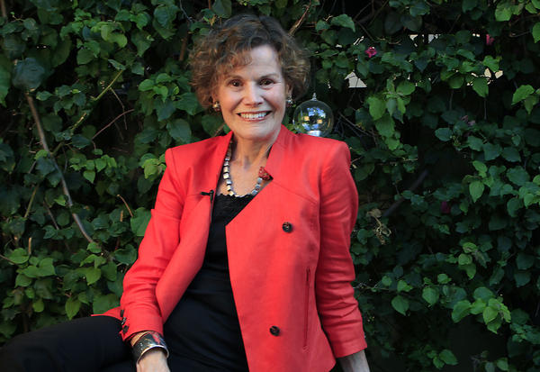 Judy Blume in Los Angeles.