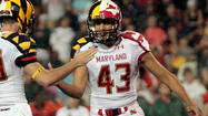 Former Maryland kicker Nick Ferrara had one of those striking freshman seasons that commands attention and raises expectations.