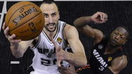 Spurs, Heat score for ABC Sunday
