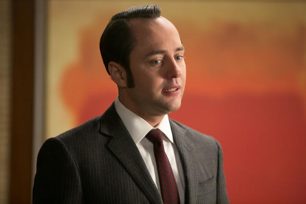 "Pete Campbell, played by Vincent Kartheiser, from ""The Quality of Mercy."""