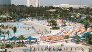 "Aquatica participating in ""World's Largest Swimming Lesson"" on Tuesday"