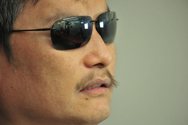 "Chen Guangcheng, Chinese human rights activist, during an interview this year in Washington, D.C. Chen has accused Beijing of waging an ""unrelenting"" campaign against academic freedom and alleged that this had led New York University to end his studies. The university denied the allegations, saying it never planned to enroll him beyond one year and was ""saddened"" by his charges."