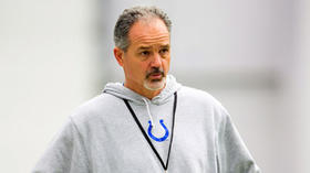 Chuck Pagano named George Halas Award winner