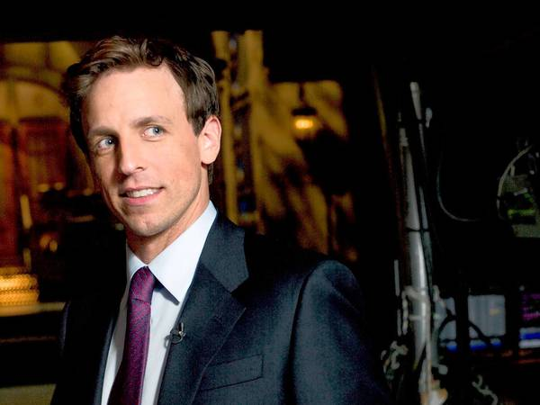 Seth Meyers performs June 20 at the Calvin Theatre in Northampton and June 22 at MGM Grand at Foxwoods.
