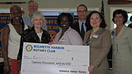 WILMETTE, Illinois – The Rotary Club of Wilmette Harbor presented 19 area charities with grants totaling $20,000 through the club's annual community service grant program.