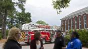 Video: Fire at CNU David Student Union