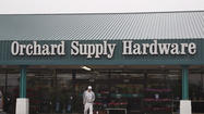 Orchard Supply Hardware is filing for Chapter 11 bankruptcy but already has a waiting rescuer – larger competitor Lowe's Companies Inc.