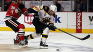BOSTON – After playing in four overtime periods in the first two games of the Stanley Cup Final, Bruins forward Brad Marchand said Monday he is mentally preparing for another close one when the Bruins meet the Blackhawks for Game 3 on Monday night.