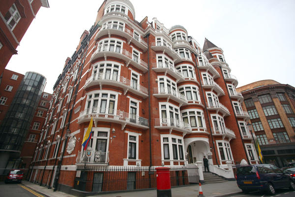 WikiLeaks founder Julian Assange is said to be willing to stay in Ecuadorean embassy in the Knightsbridge section of London for years in order to avoid extradition to Sweden.
