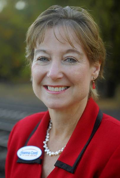 Joanna L. Conti last week announced her bid for Anne Arundel county executive.