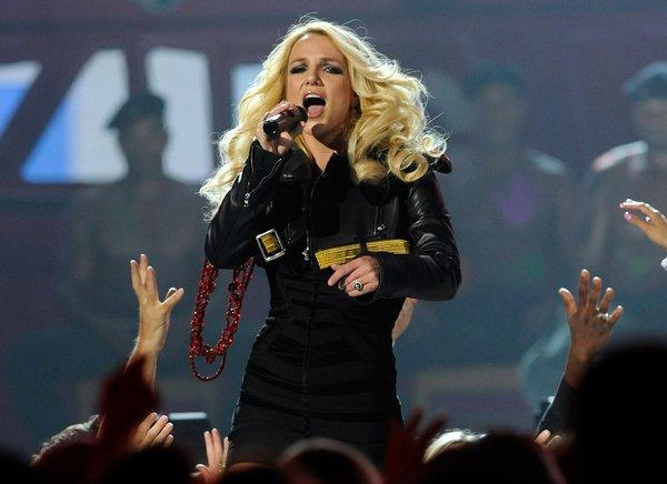 Britney Spears performs during the 2011 Billboard Music Awards at the MGM Grand Garden Arena on May 22, 2011, in Las Vegas.