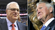Phil Jackson and Jerry West did not have a strong relationship when the two were with the Lakers.