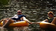 Tubing Down the Farmington River